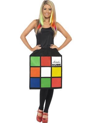 ladies 39 rubiks cube costume. Black Bedroom Furniture Sets. Home Design Ideas