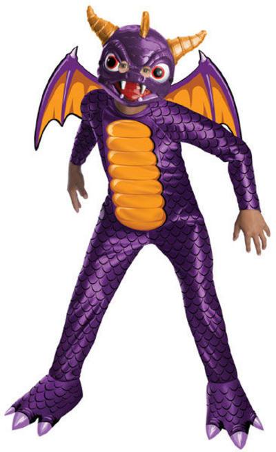 Kids' Spyro the Dragon Skylanders Costume