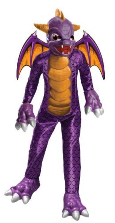 Officially licensed Kids Spyro the Dragon Skylanders Costume