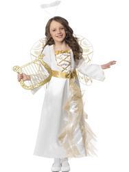 View Item Girls Angel Princess Nativity Costume