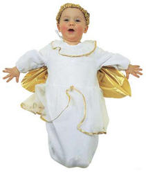 View Item Baby Bunting Angel Christmas Costume
