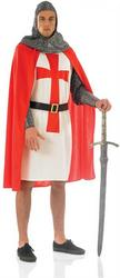 View Item Men Crusader Knight Costume