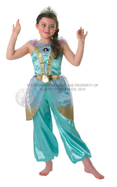 Girl's Glitter Jasmine Disney Princess
