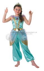 View Item Girl's Glitter Jasmine Disney Princess Fancy Dress