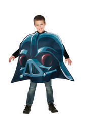 Kids Darth Vader Angry Bird Costume