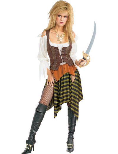 Ladies' Deluxe Pirate Wench Costume