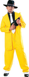 View Item Yellow Zoot Suit Costume