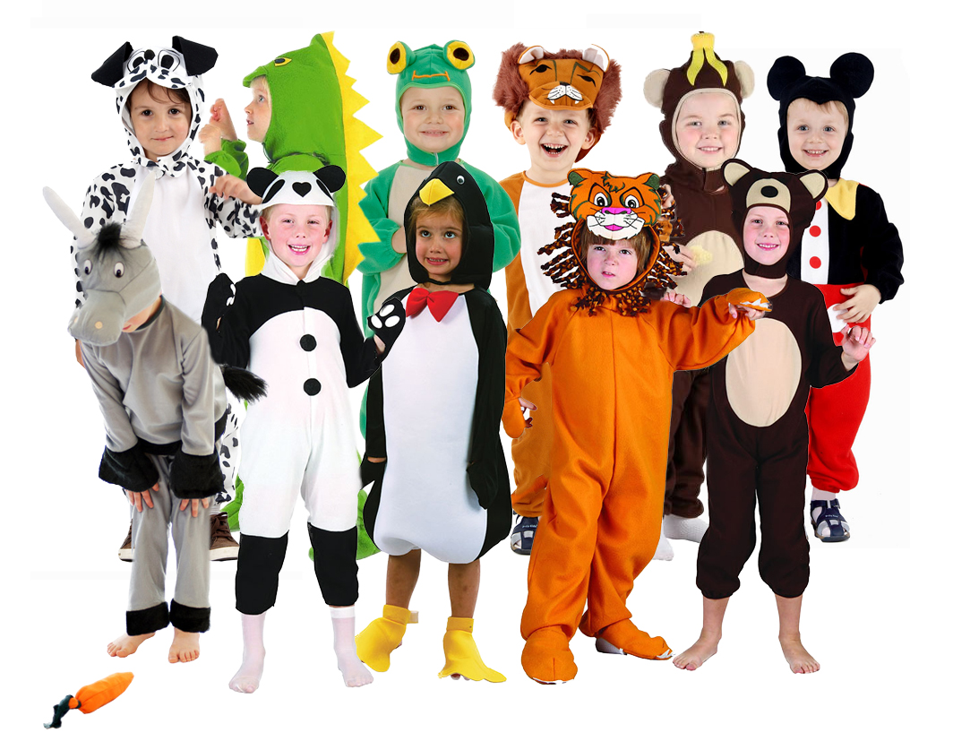 Toddler Animal Costumes Ages 2 3 4 Boys Girls Halloween Book Week Fancy Dress