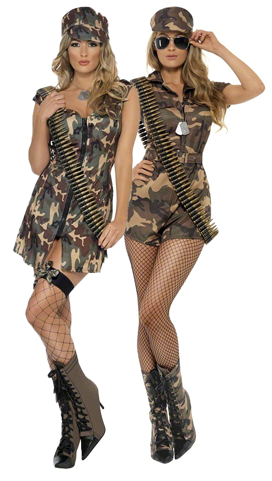 Army girl belt dog tags ladies military fancy dress womens image is loading army girl belt dog tags ladies military fancy solutioingenieria Image collections
