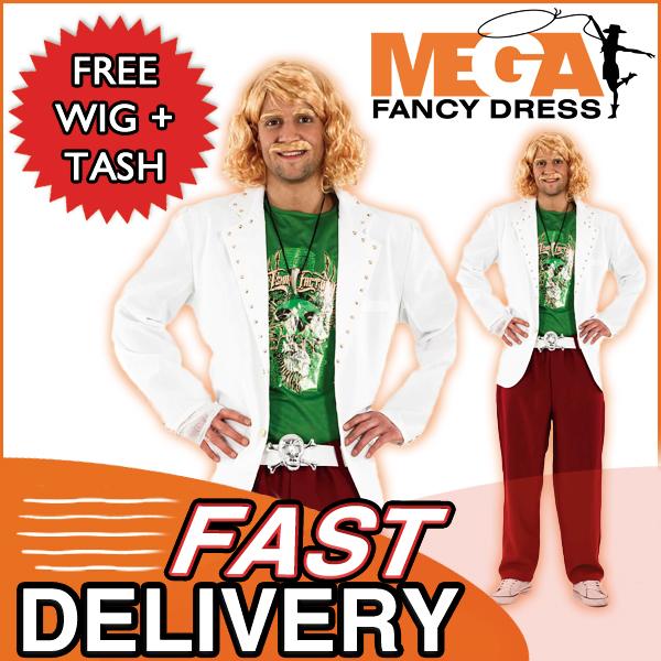 Keith Lemon Mens Fancy Dress Game Show Celebrity Host