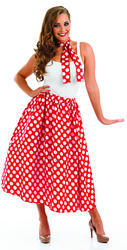 View Item 50s Red Rock and Roll Skirt