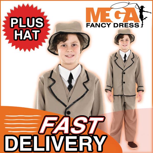 Edwardian-Boys-Fancy-Dress-Book-Week-Rich-Victorian-Kids-Costume-Ages-4-12