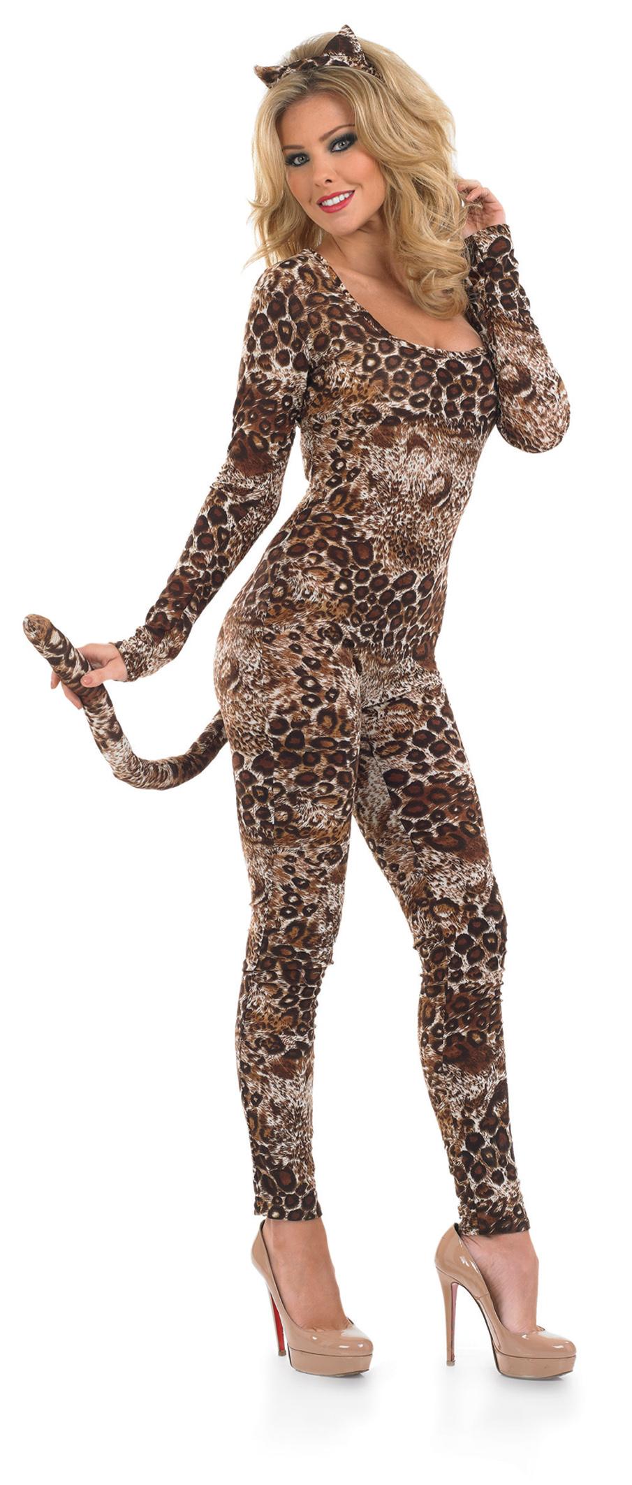 Костюм леопарда женский