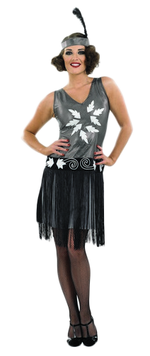 1920s-Cocktail-Fancy-Dress-Ladies-Flapper-Charleston-20s-Costume-Outfit-UK-8-30