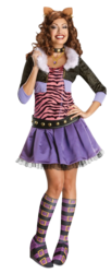 View Item Ladies Clawdeen Wolf Monster High Costume