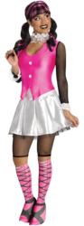 View Item Ladies Draculaura Monster High Costume