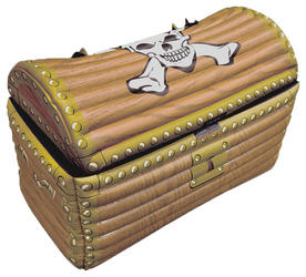 View Item Inflatable Treasure Chest