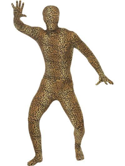 Leopard Print Second Skin Costume