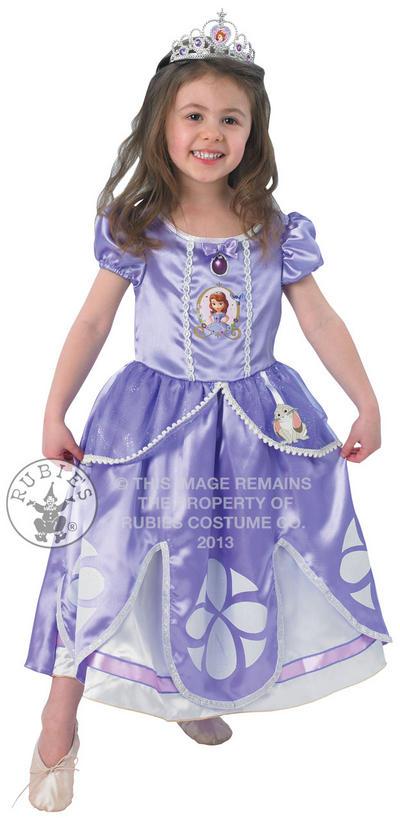 Sofia Disney Princess Deluxe Costume Princess Costume From Sofia The Printable