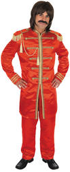 View Item Pop Sergeant Red Fancy Dress Costume