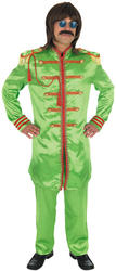 View Item Pop Sergeant Green Fancy Dress Costume