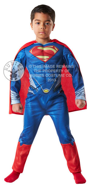 Superman Man of Steel Muscle Chest Costume