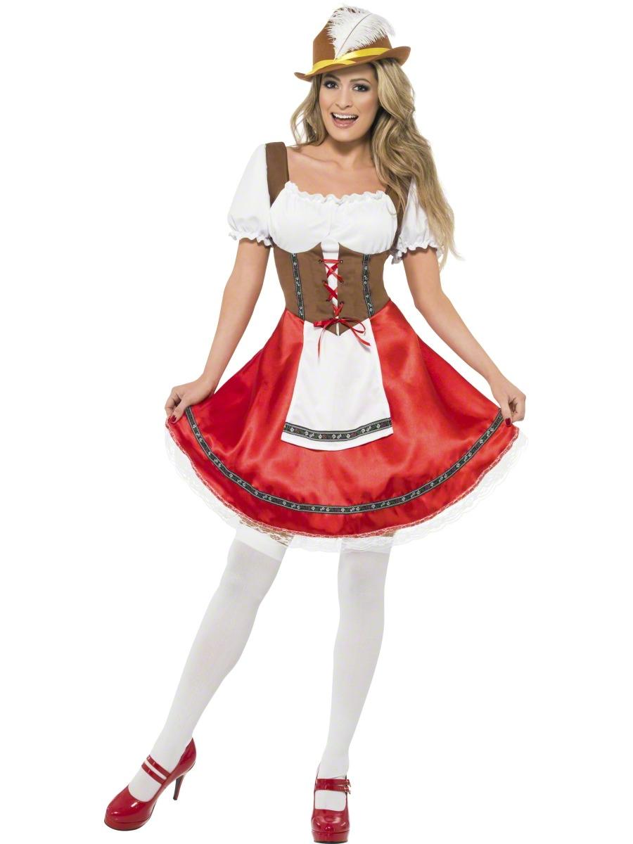 Bavarian-Beer-Girl-Maid-Ladies-Oktoberfest-Waitress-Fancy-Dress-Womens-Costume