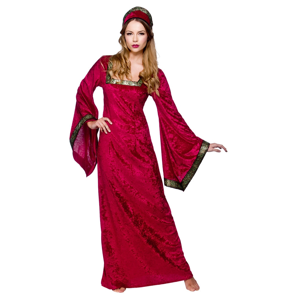 Medieval-Princess-Ladies-Fancy-Dress-Historical-Period-Character-Womens-Costume