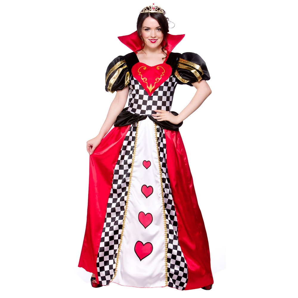 Queen-of-Hearts-Fancy-Dress-Fairytale-Ladies-Alice-in-Wonderland-Book-Costume