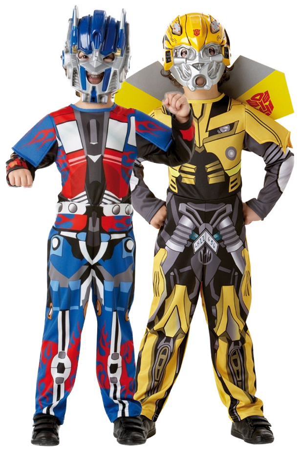 Transformers boys optimus prime or bumble bee kids child fancy dress image is loading transformers boys optimus prime or bumble bee kids solutioingenieria Choice Image