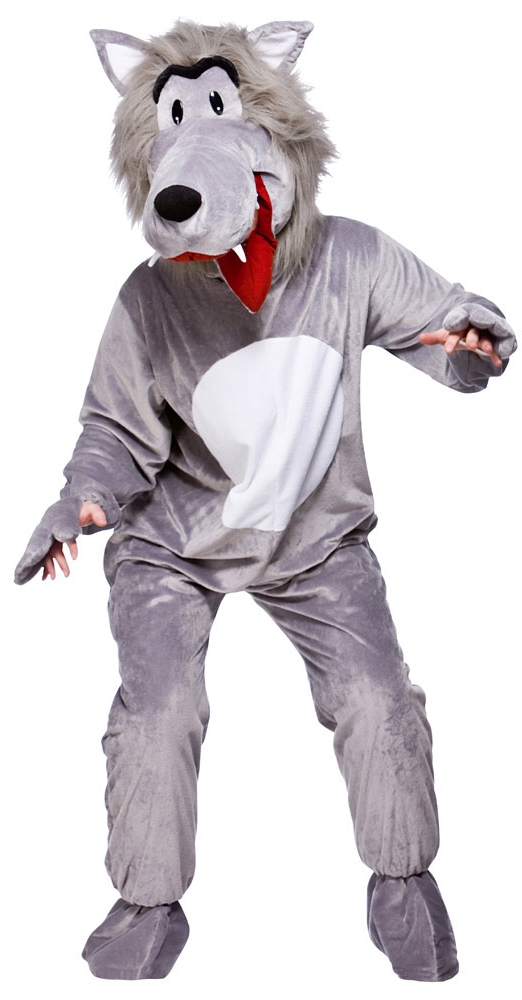 Wolf mascot costumes adults
