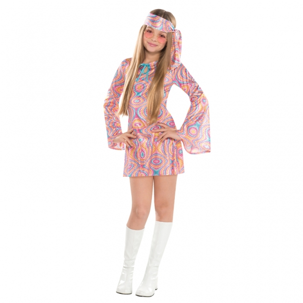Disco Diva Teen Girls 1970s Fancy Dress 70s Childrens ...