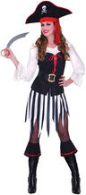 View Item High Seas Sweetheart Pirate Costume