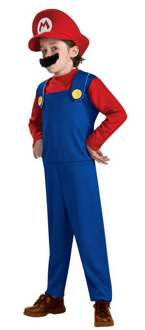 Kids' Super Mario Costume