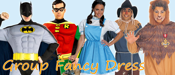 Group Fancy Dress Costumes