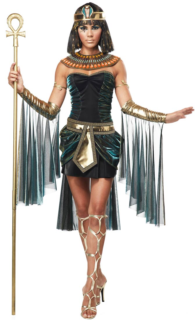 Wonderful Cleopatra Adult Costume  Egyptian Costumes Halloween Amp The Secret Of
