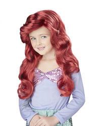 View Item Little Mermaid Wig Costume