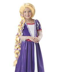 View Item Deluxe Rapunzel Wig Costume