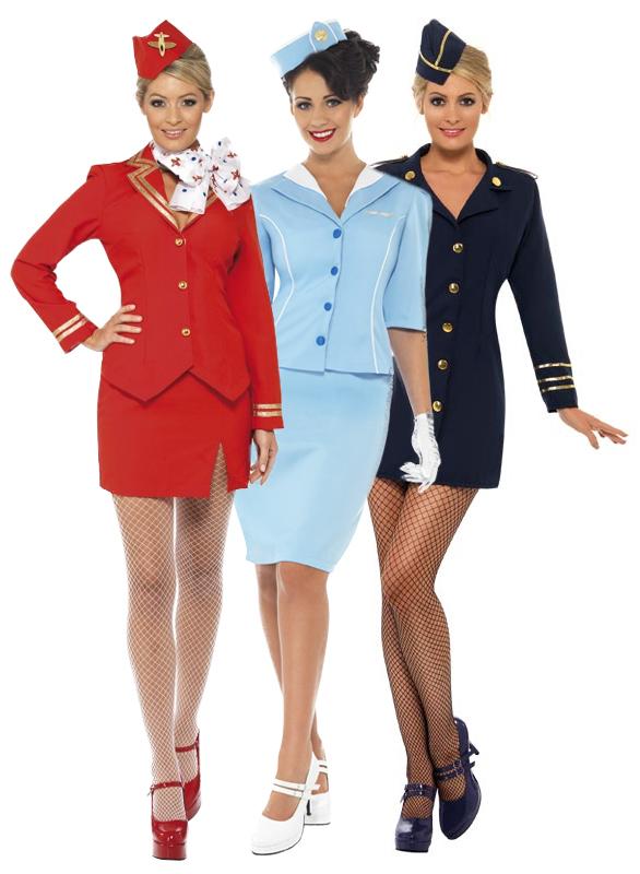 Air Hostess Costume Ladies Flight Attendant Cabin Crew