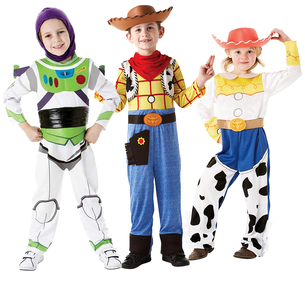 Disney Buzz, Woody or Jessie Toy Story Kids Costume Child Fancy ...