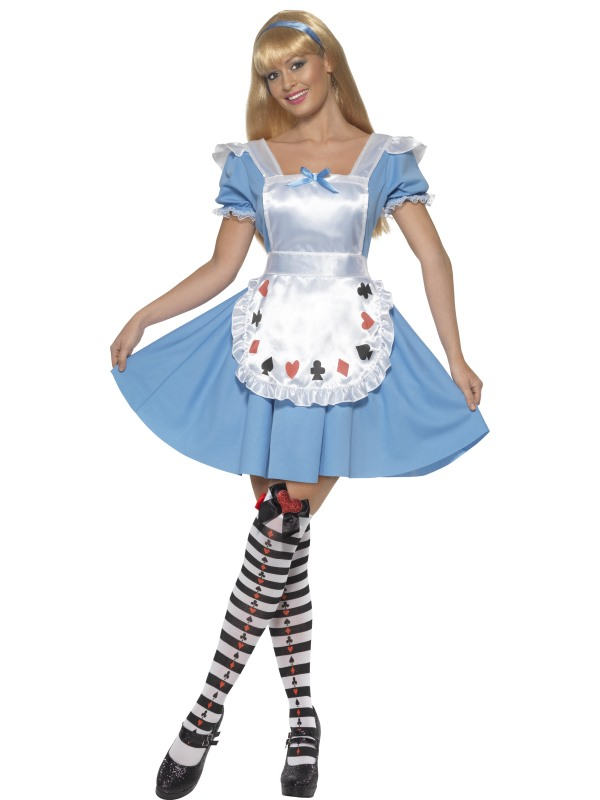 Alice-in-Wonderland-Ladies-Fairytale-Fancy-Dress-Book-Character-Costume-UK-8-16