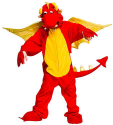 View Item Fire Breathing Dragon Costume
