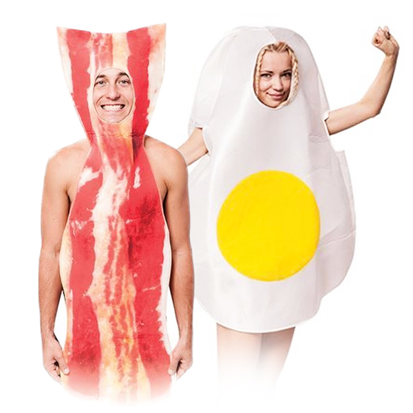 Bacon-Egg-Fancy-Dress-Mens-Ladies-British-English-Breakfast-Food-Adult-Costume