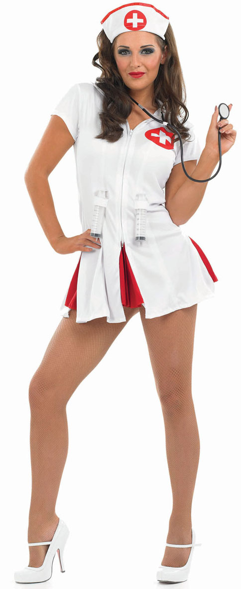 Sexy girl in nurse outfit