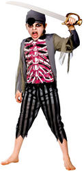 View Item Kid's Zombie Pirate Costume