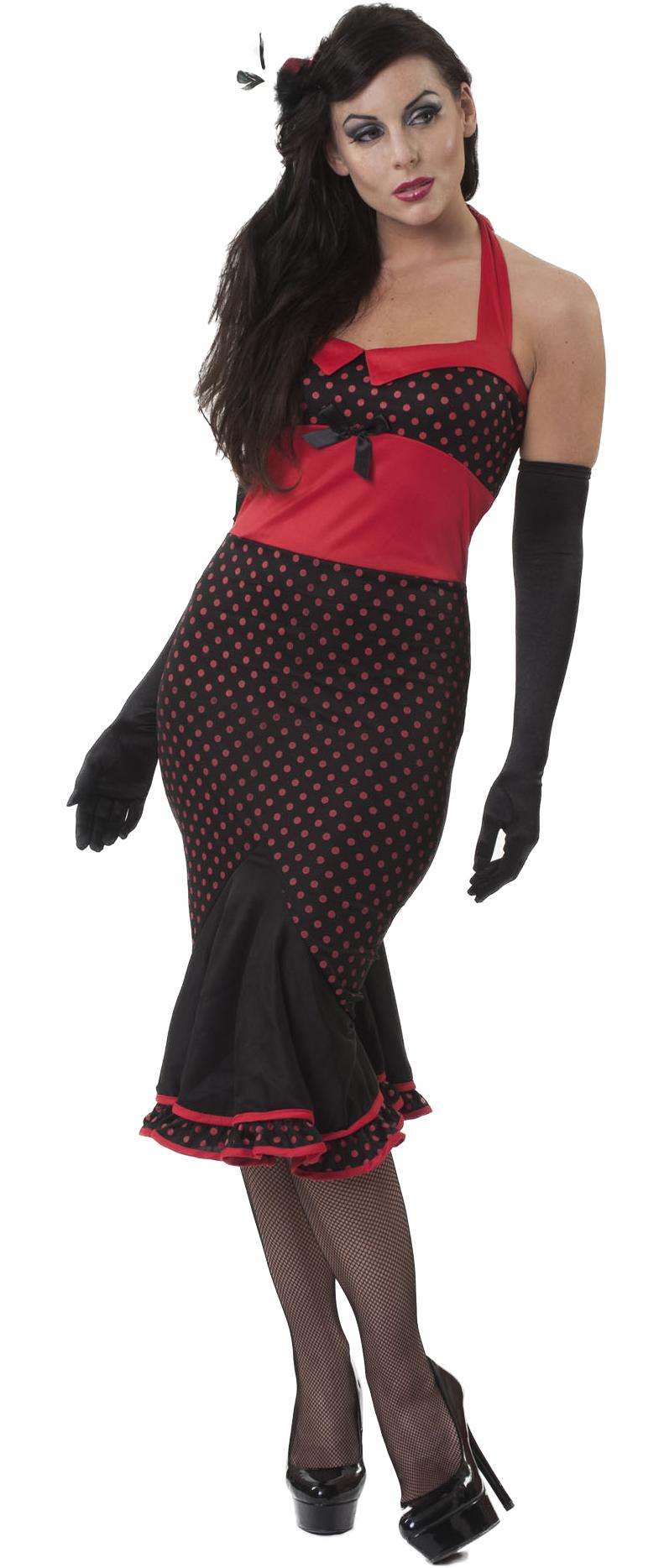 sexy showgirl moulin rouge ladies fancy dress 1920s