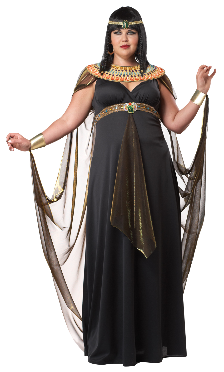 Deluxe Cleopatra Queen of the Nile Plus Size Egyptian ...