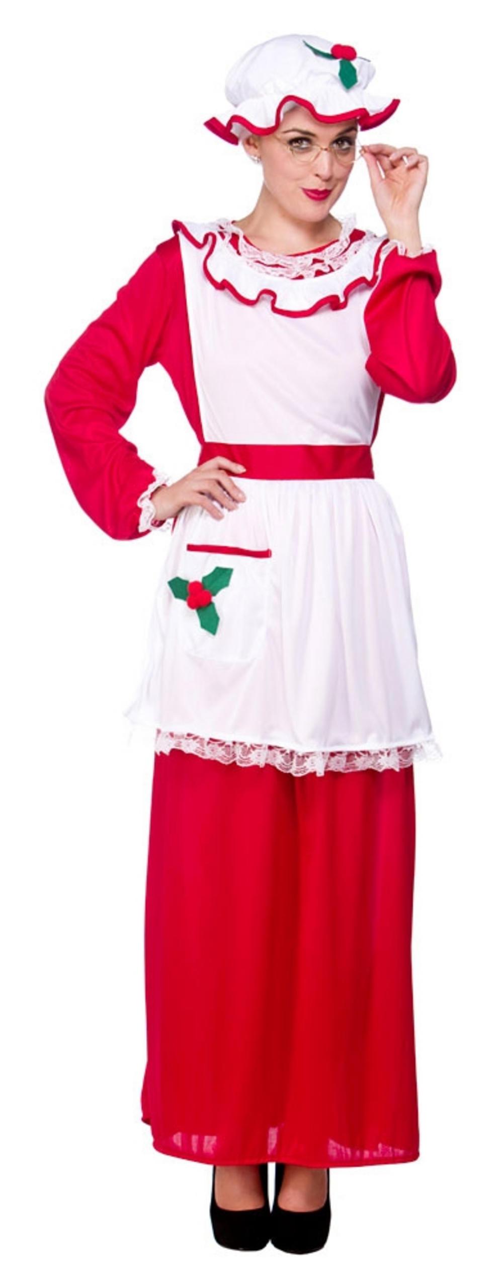 Mrs santa claus costume ladies christmas costumes mega