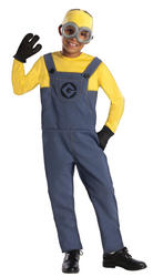 View Item Boys Despicable Me Minion Costume