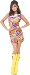 View Item 1960s Fever Peace Love Costume